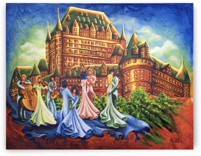 Jour de bal au Château by Annie Pelletier