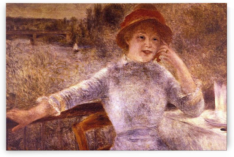 En la Grenouillere by Renoir by Renoir