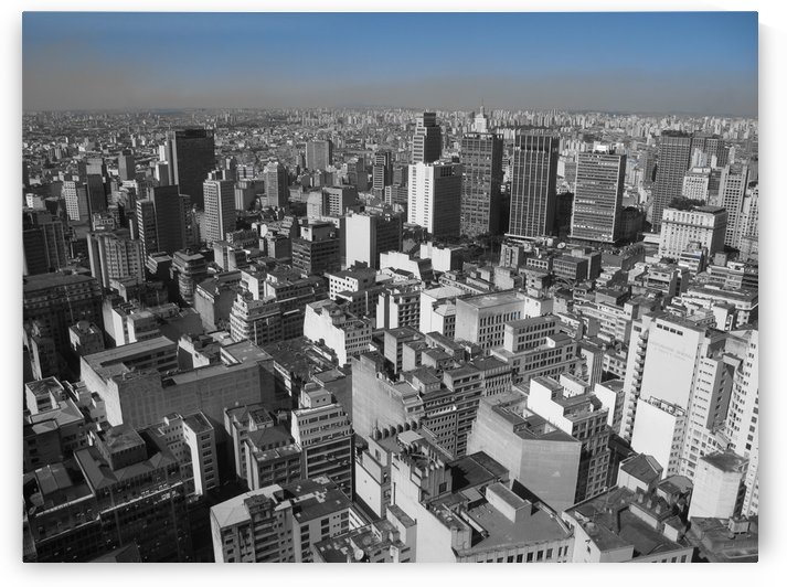 City Scape - Sao Paulo by B S Jacob