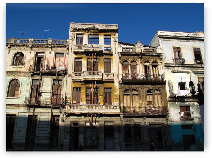 Havana Facades by B S Jacob