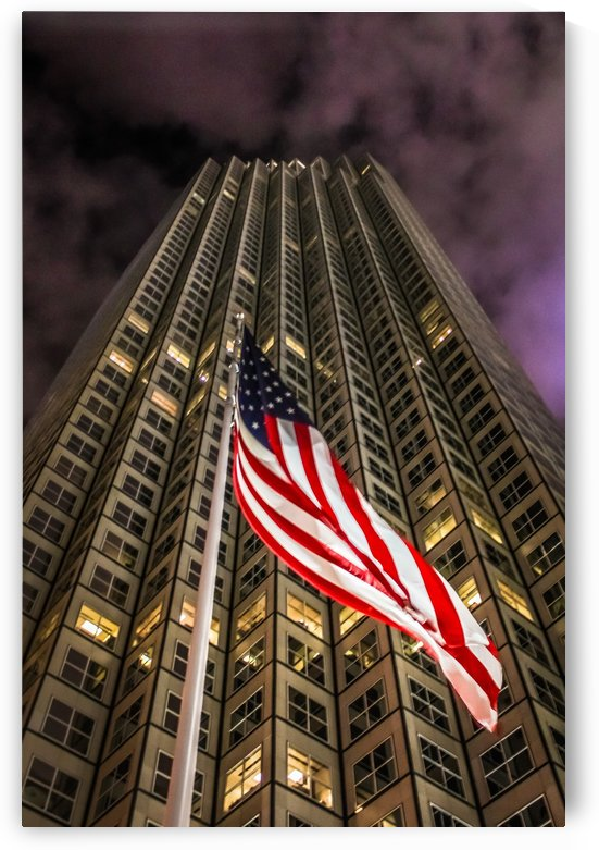 America Stands Tall by Danielle Farrell