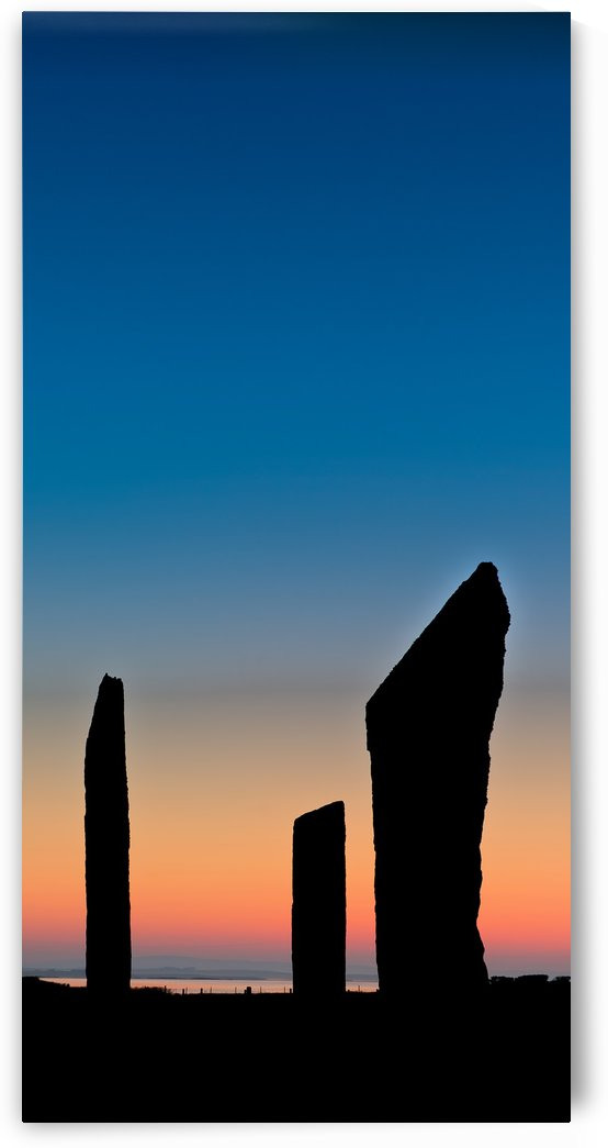 Standing Stones of Stenness by Fergus Maitland