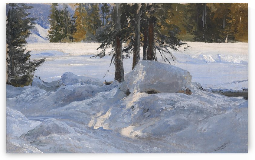 Wintersonne by Edward Theodore Compton