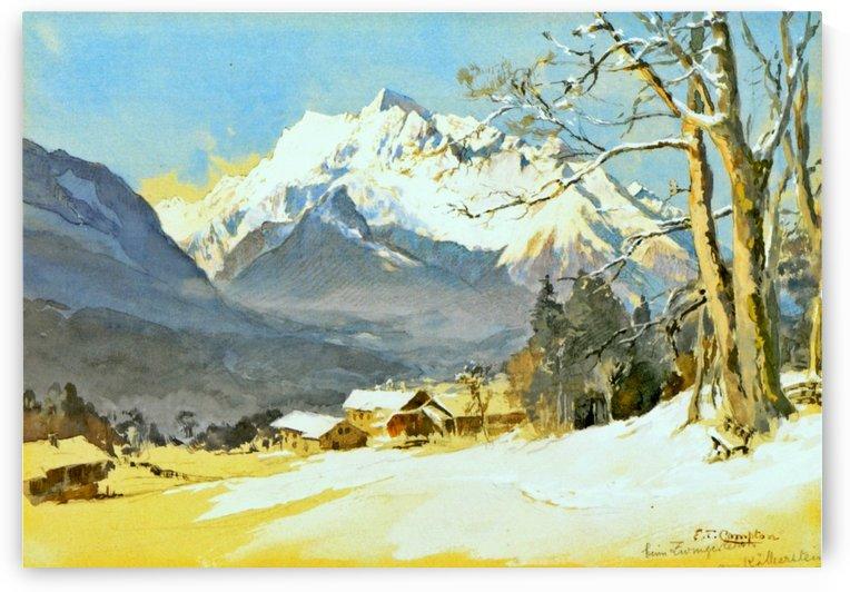 Bischofswiesen hochkalter by Edward Theodore Compton