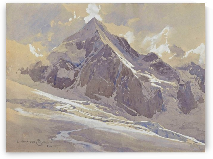 The Knigsspitze by Edward Theodore Compton