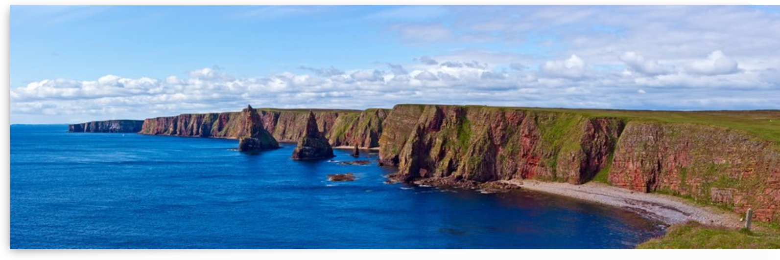 Duncansby Stacks, Duncansby Head by Fergus Maitland