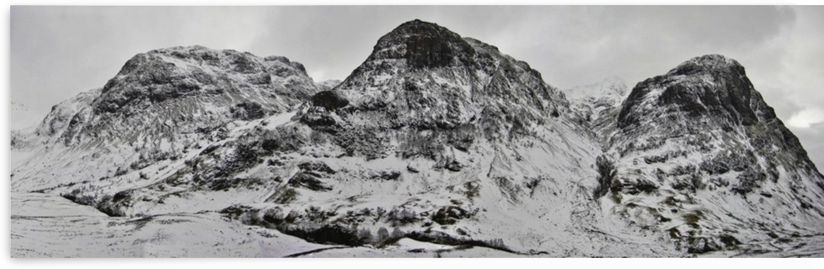 The Three Sisters, Glencoe by Fergus Maitland