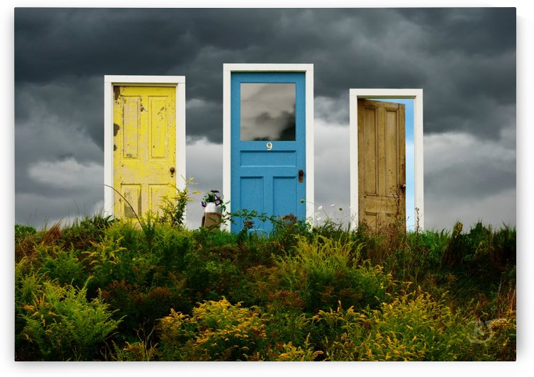 Field of Three Doors by Richard and Barbara Jones