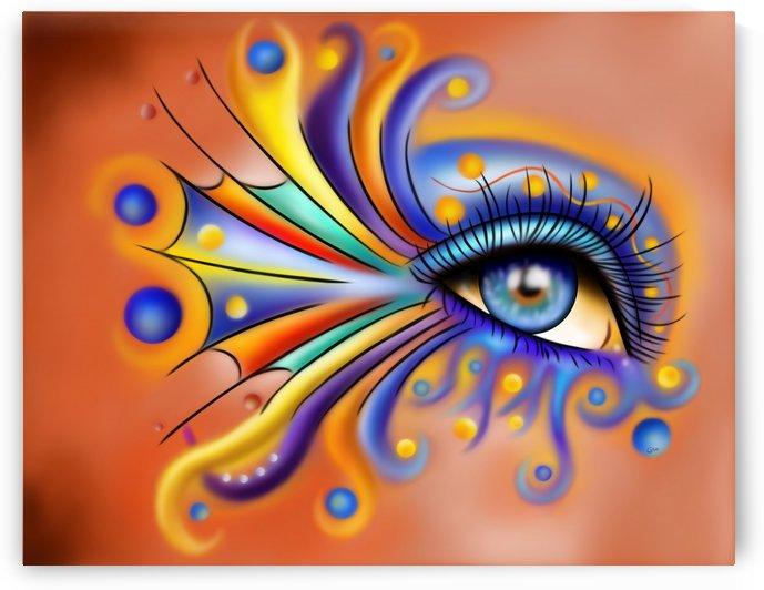 Arubissina V1 - fish eye by Cersatti Art