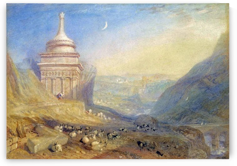 The Valley of the Brook of Kidron by Joseph Mallord Turner