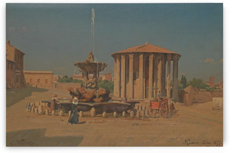 Roma, August 1877 by Carl Wuttke
