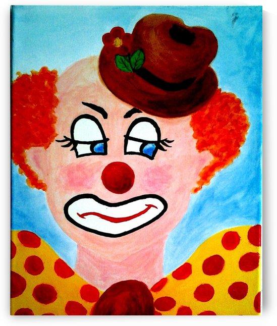 Masker, The sad Clown by Samtpfote Zwodreipi