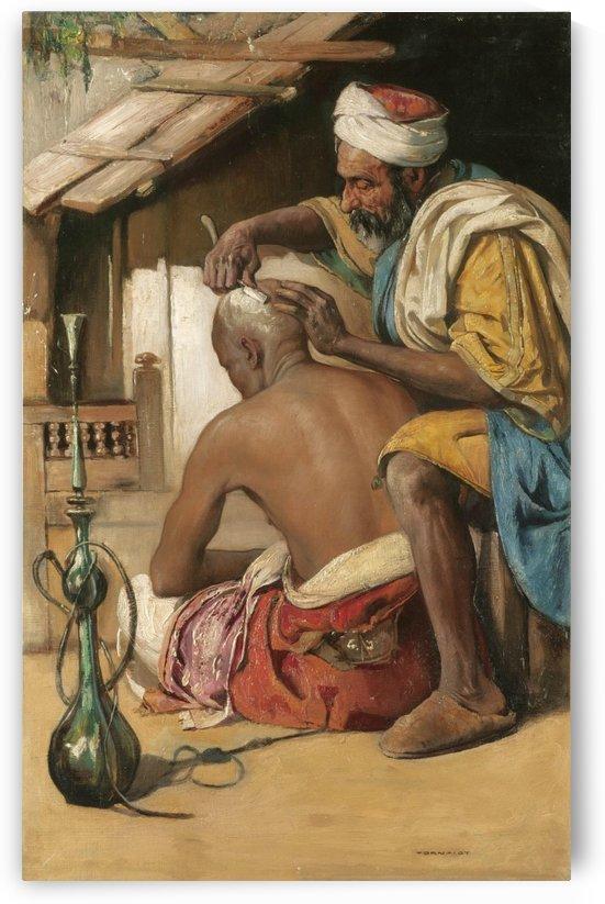 The barber by Gyula Tornai