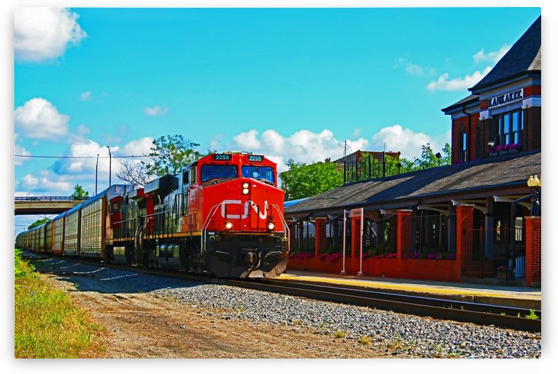 Fast moving Freight by Don  Baker