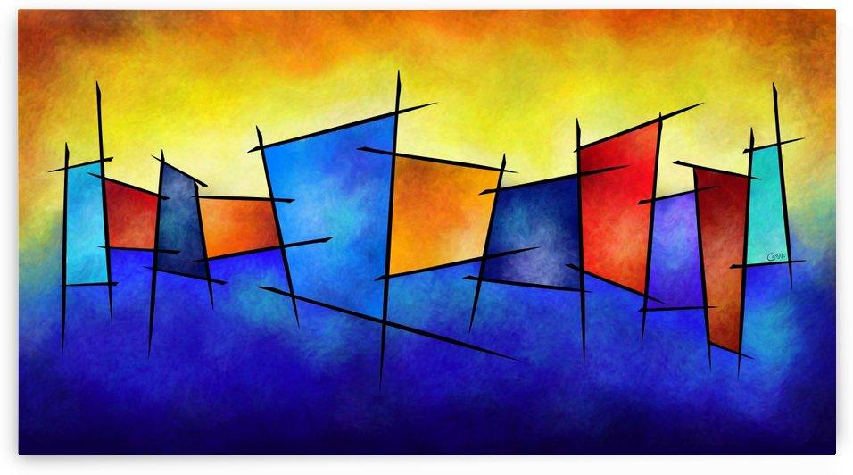 Esseniumos V1 - square abstract by Cersatti Art