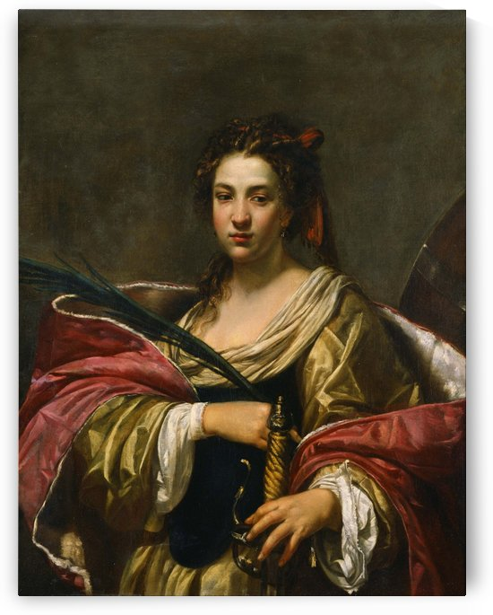 St Catherine by Simon Vouet