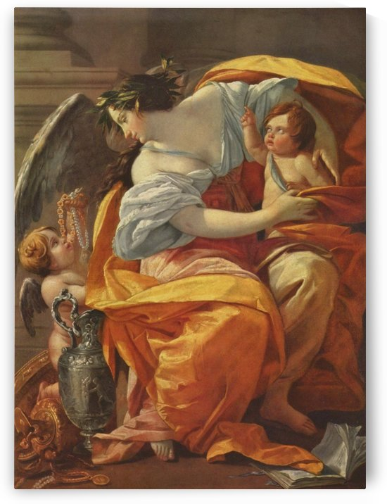 La Richesse by Simon Vouet