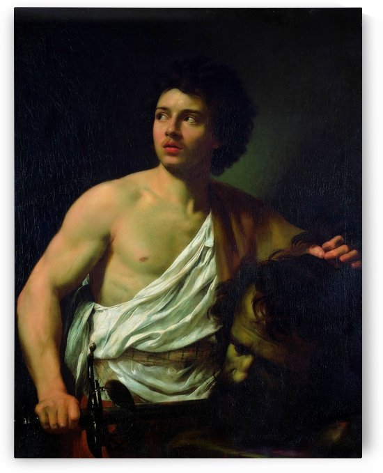 David with the Head of Goliath by Simon Vouet