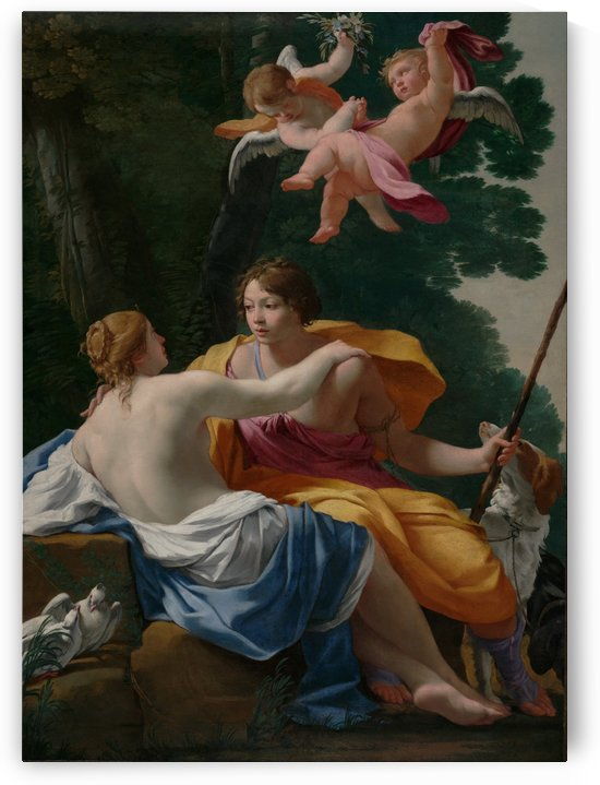 Venus and Adonis by Simon Vouet