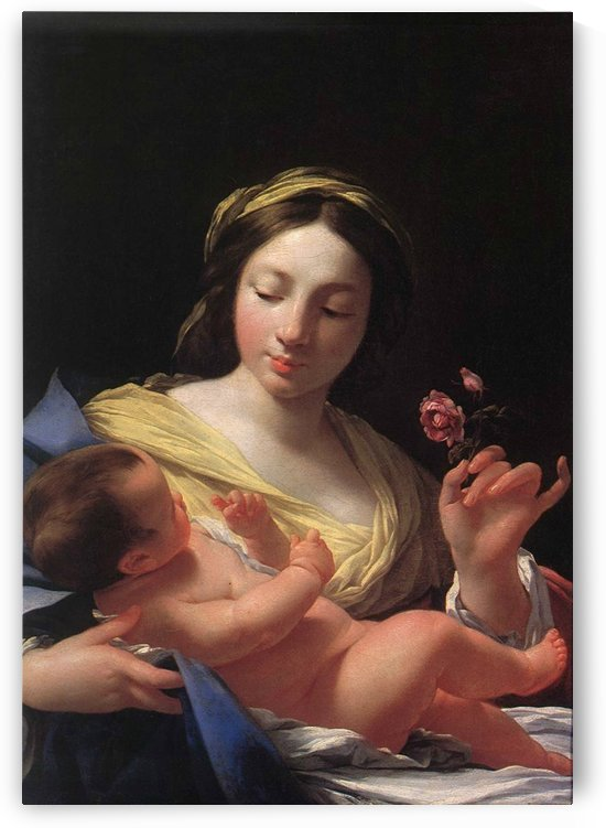 Virgin and Child by Simon Vouet