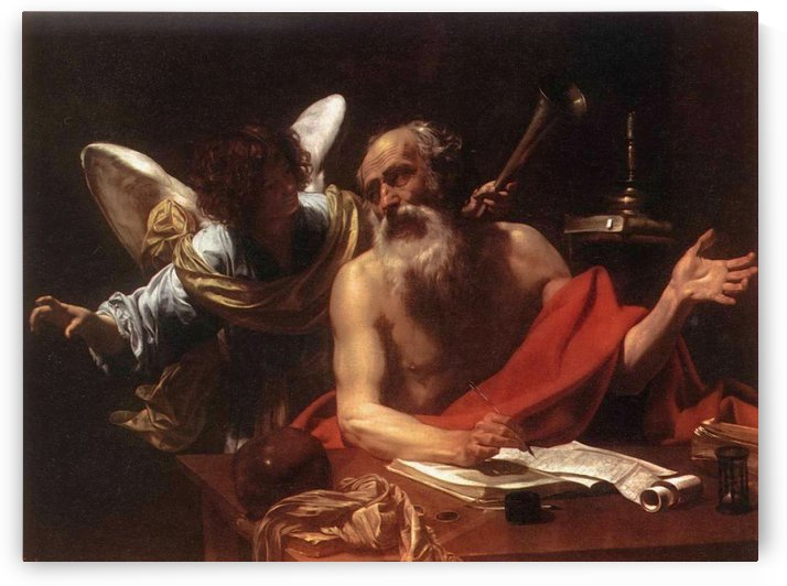 St Jerome and the Angel by Simon Vouet