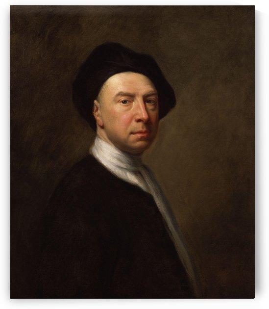 Portrait of a man by Simon Vouet