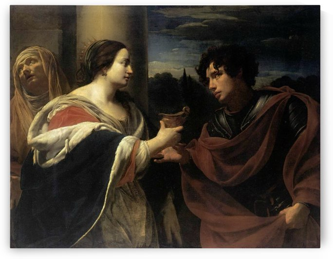 Sophonisba receiving the poisoned chalice by Simon Vouet