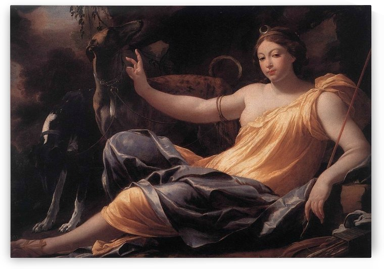 Diana by Simon Vouet