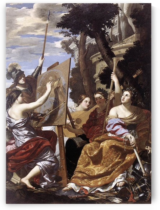 Allegory of Peace by Simon Vouet