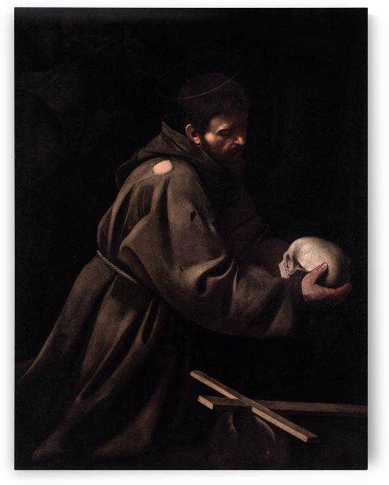 The Temptation of Saint Francis by Simon Vouet