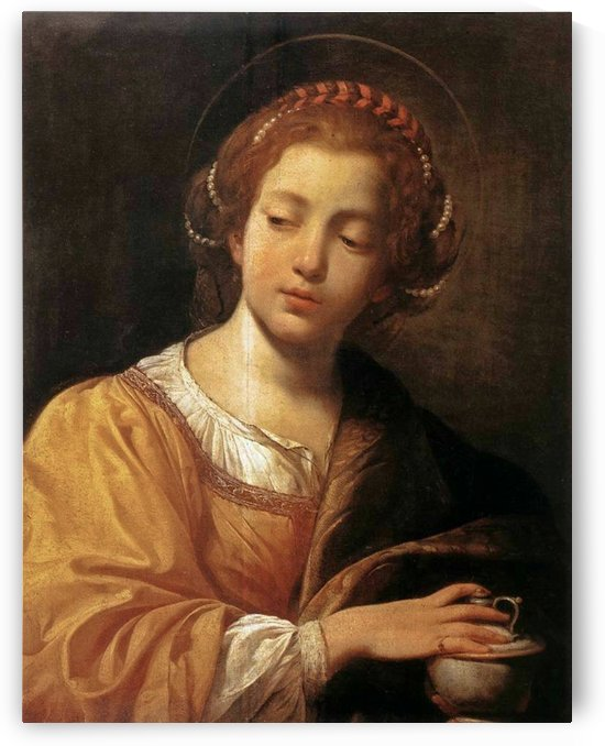 Magdalene by Simon Vouet