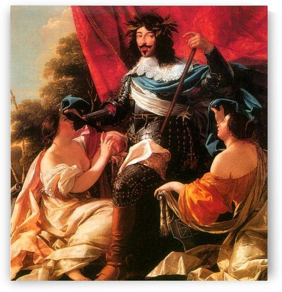 Portrait of Louis XIII by Simon Vouet