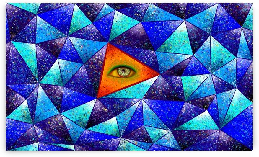 Tethrous V1 - watching triangle by Cersatti Art