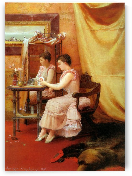 La toilette by Georges Croegaert