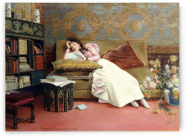 The Reader by Georges Croegaert