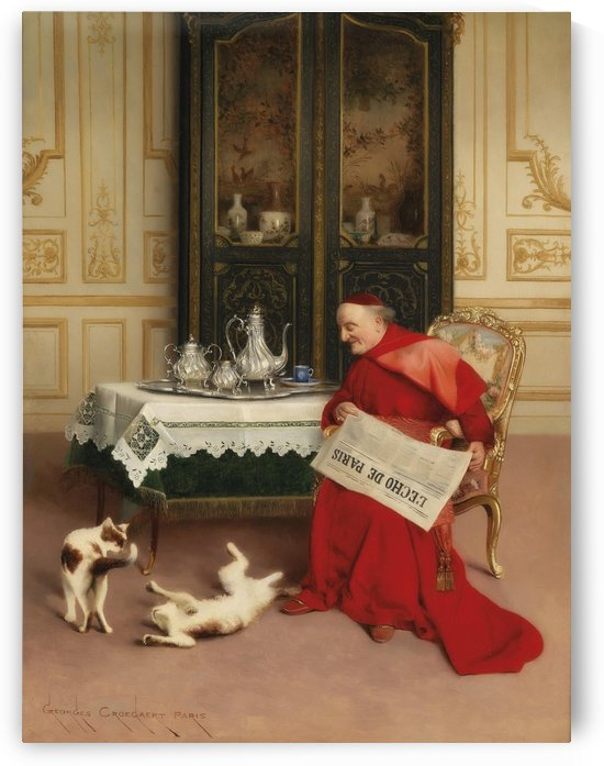 Cat games by Georges Croegaert