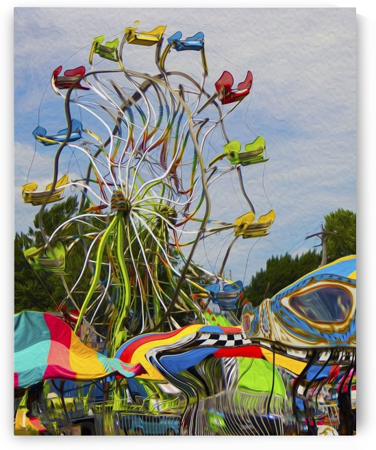 Strange Days at the County Fair by G  Stevenson