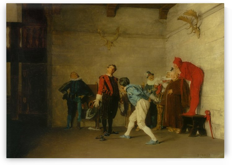 The thespians by Vibert Jehan Georges