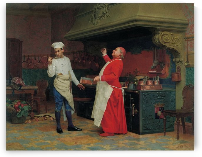 The marvelous sauce by Vibert Jehan Georges
