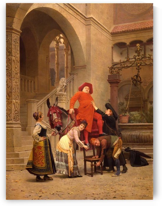 His Eminence returns by Vibert Jehan Georges
