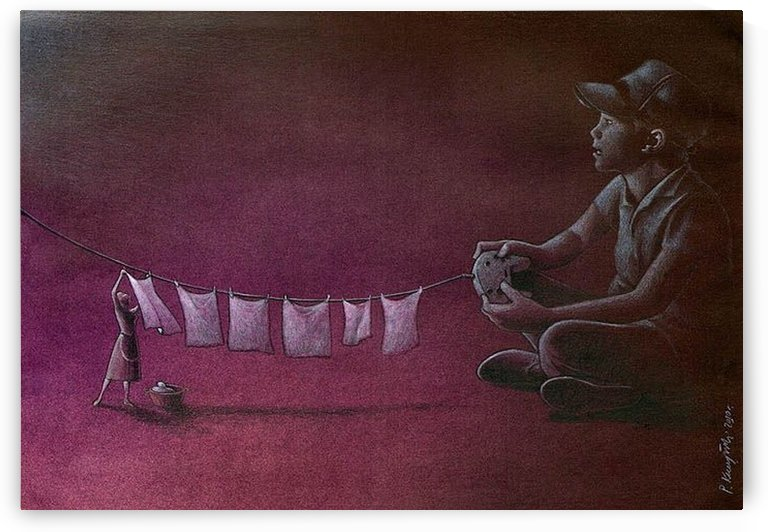 Play Station by Pawel Kuczynski