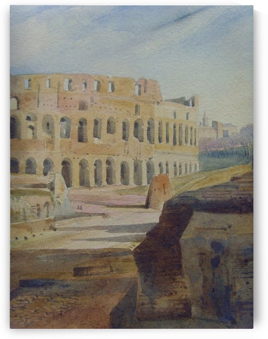 Colosseum Antique by Augustus John Cuthbert Hare