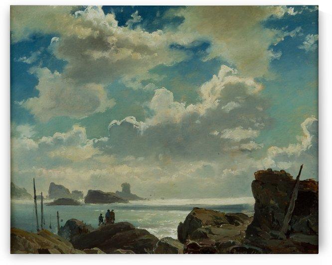 Island of Jersey, England by Carl Frederik Sorensen