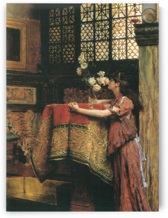 In my studio by Alma-Tadema by Alma-Tadema