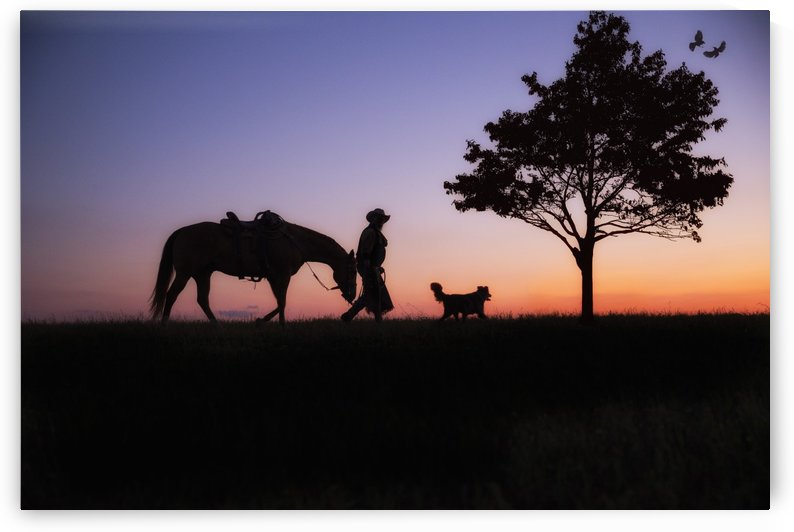 Cowboy by Kathy Cline Photography