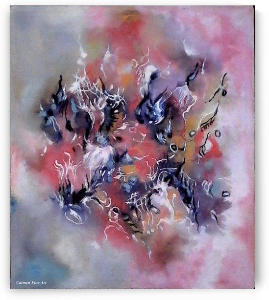 The Modular Intensity by Carmen Fine Art