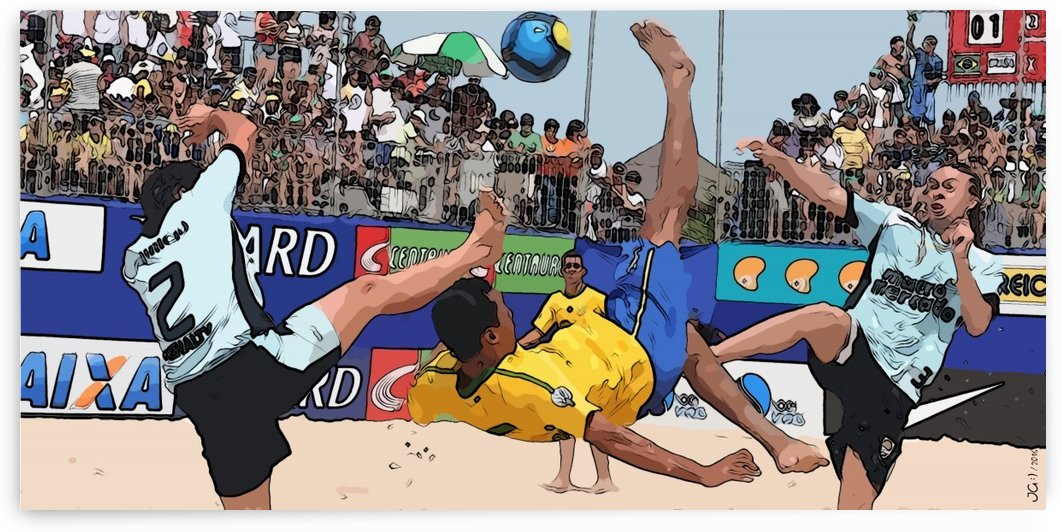 Beach football_02 by Watch & enjoy-JG