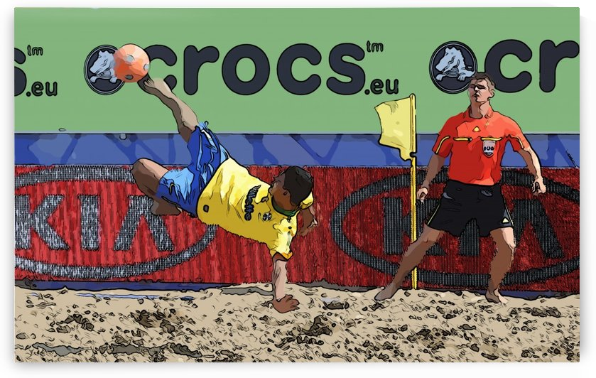 Beach football_03 by Watch & enjoy-JG