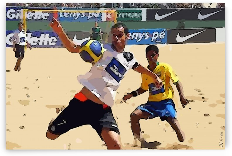Beach football_05 by Watch & enjoy-JG