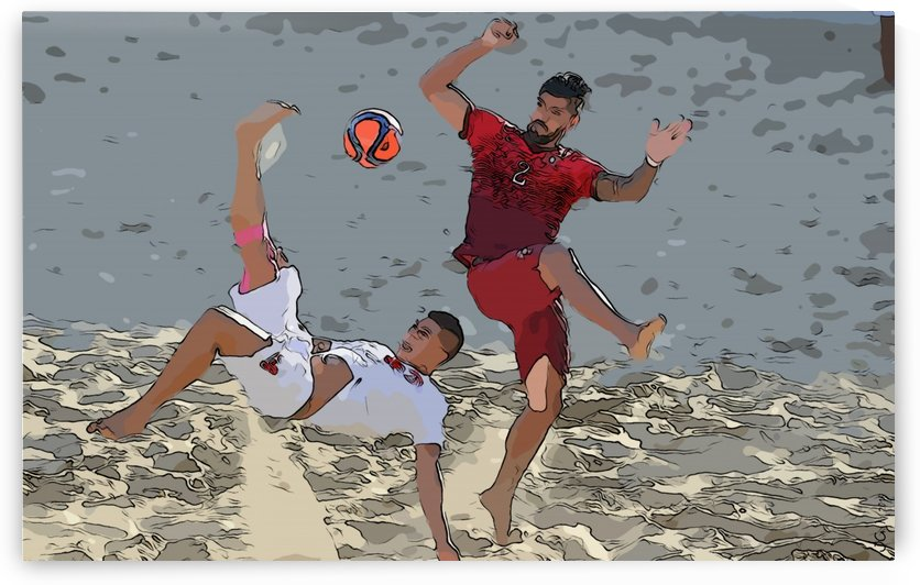 Beach football_07 by Watch & enjoy-JG